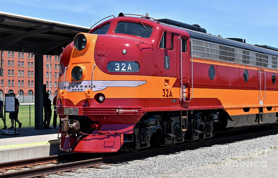 Milwaukee Road No.32a Diesel Photograph