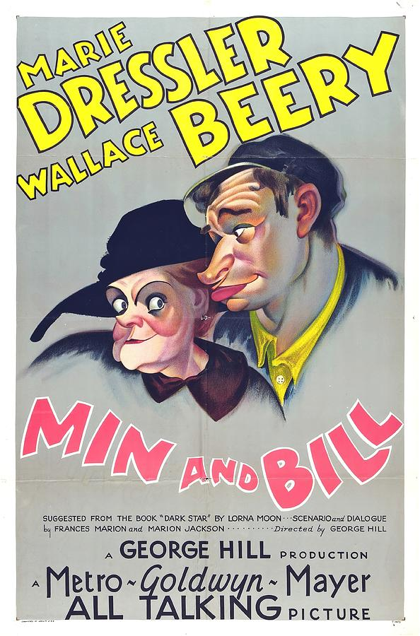 min And Bill, With Marie Dressler And Wallace Beery, 1930 Mixed Media