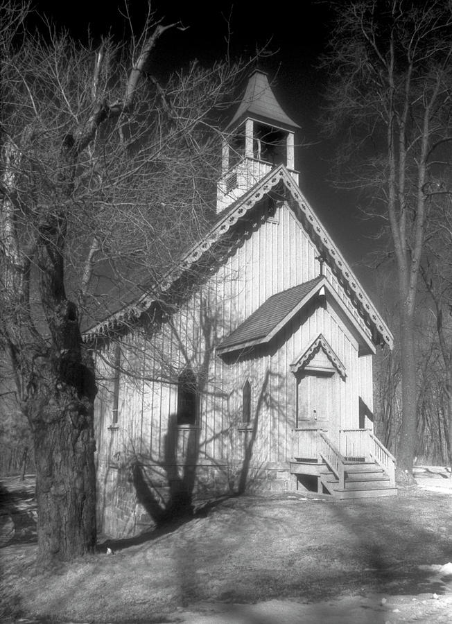 Church Photograph - Miners Sanctuary by Jim Cook