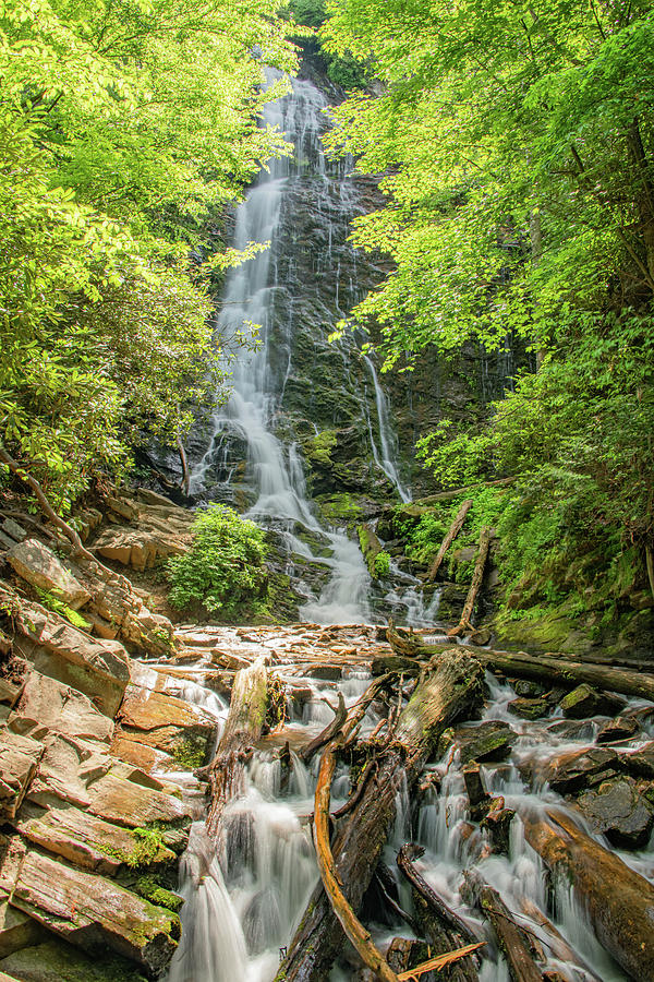 Mingus Falls on a Summer Day by Marcy Wielfaert