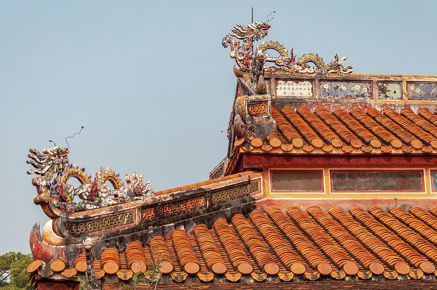 Minh Mang Tomb Carvings by Rob Hemphill