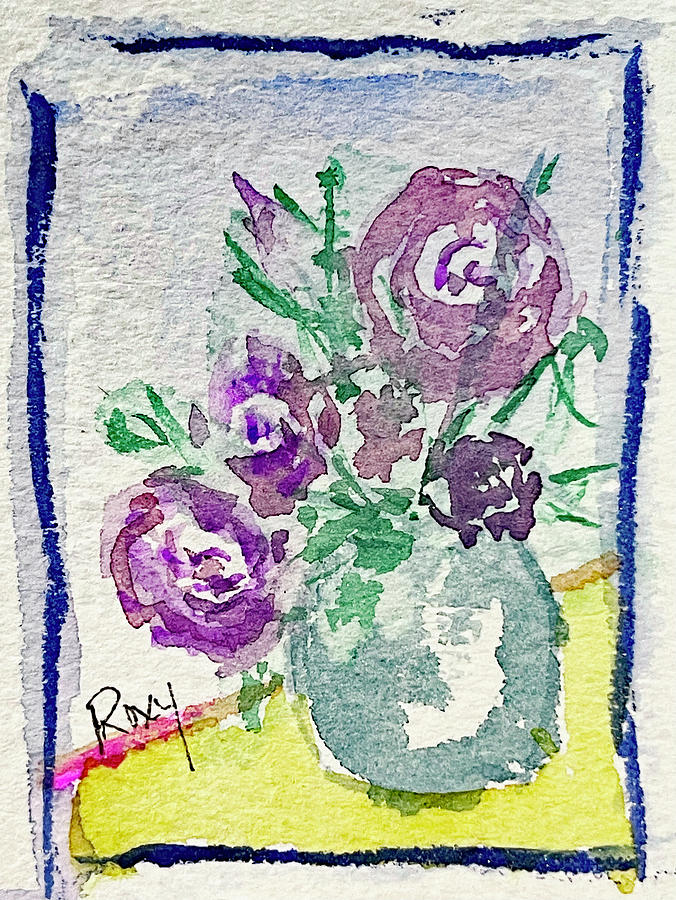 Mini Roses Painting