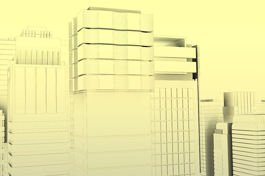 Minimal Architecture Poster.0 Digital Art