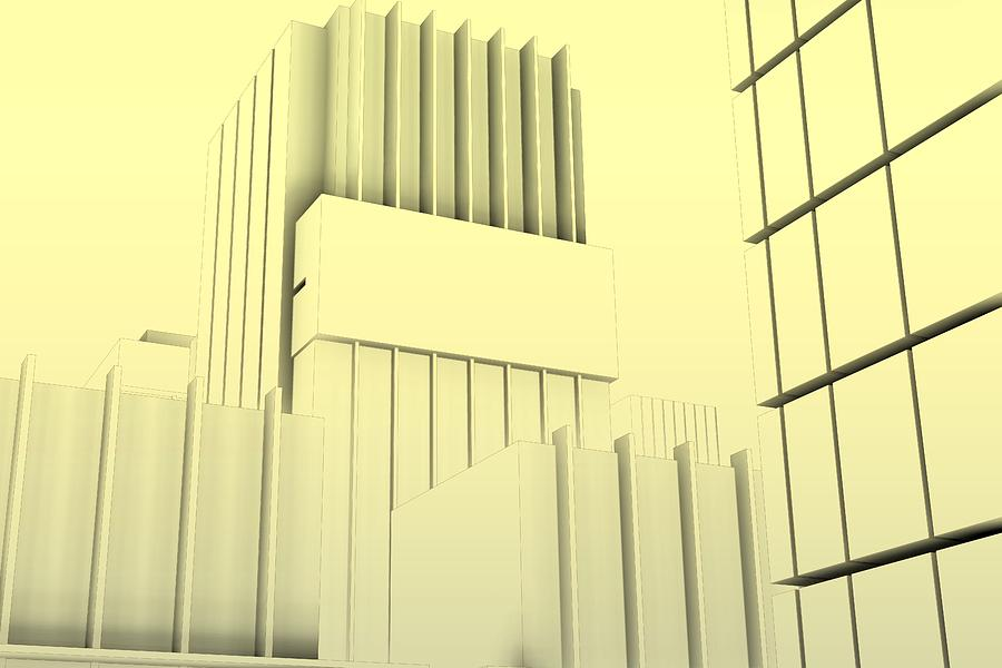 Minimal Sketch Architecture.0 Digital Art