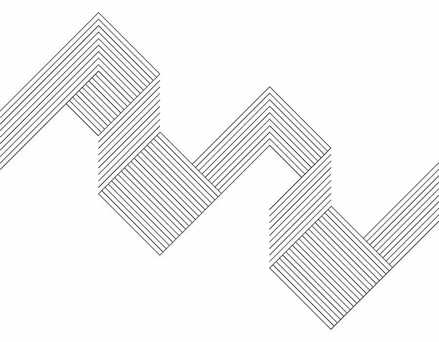 Minimalism geometric line pattern background Drawing by Shuoshu