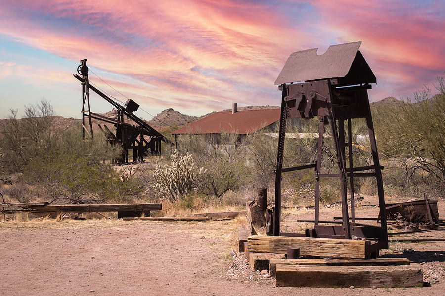 Mining Town Photograph