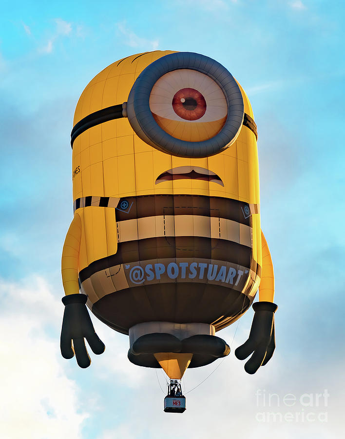 Minion Hot Air Balloon by Colin Rayner