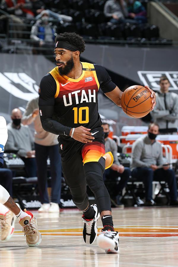 Minnesota Timberwolves v Utah Jazz Photograph by Melissa Majchrzak