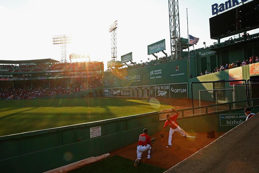 Minnesota Twins v Boston Red Sox Photograph by Maddie Meyer