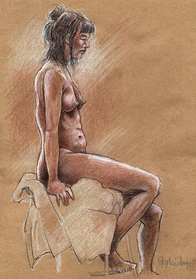Miranda Profile Drawing