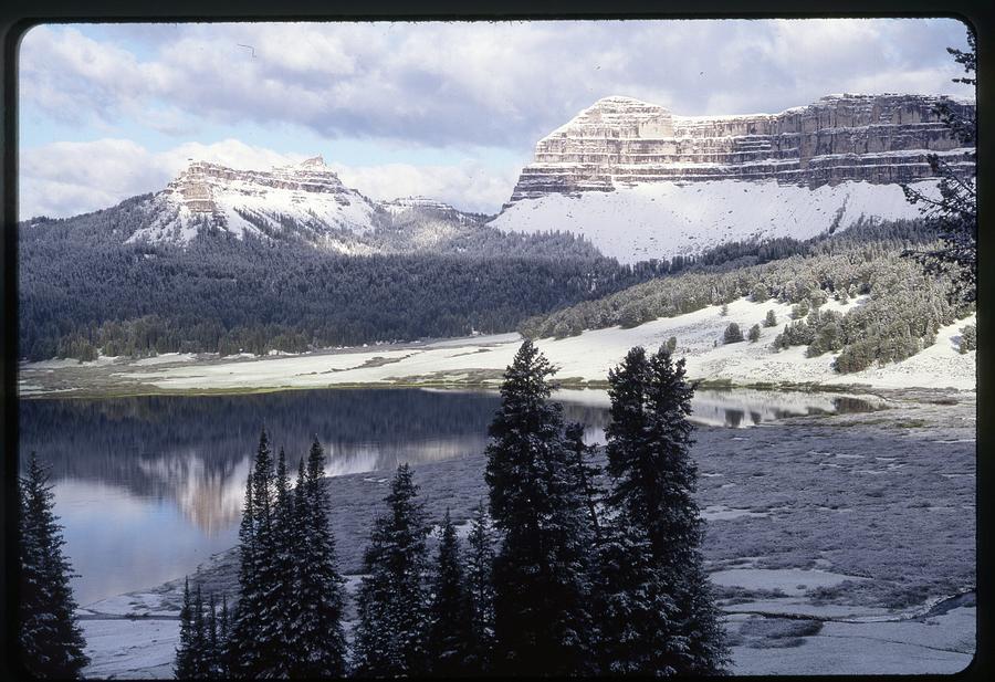 Utah Photograph - Mirror Lake in Uinta by YHWHY Vance