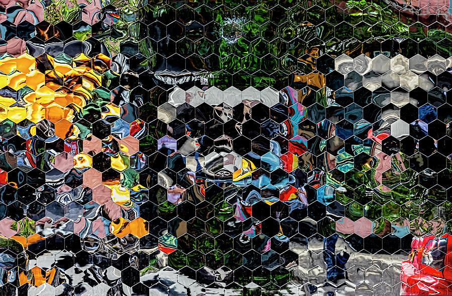 Mirrored Wall - Lower Manhattan Photograph