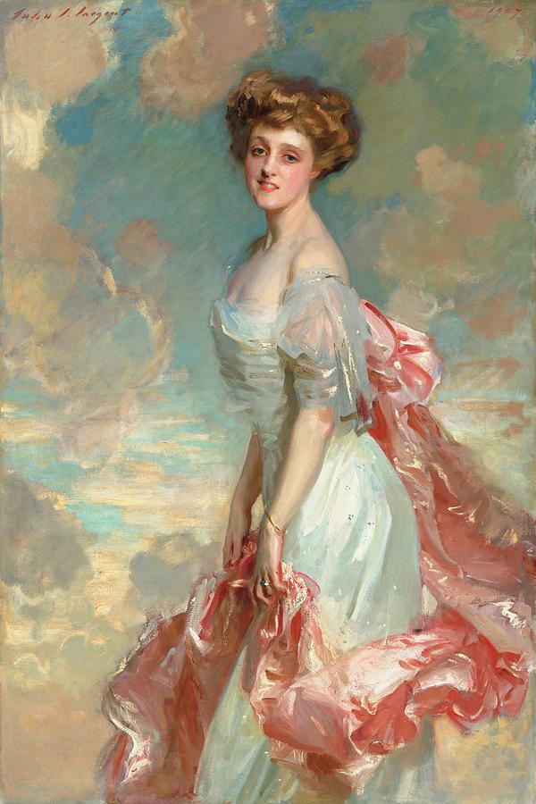John Singer Sargent Painting - Miss Mathilde Townsend, 1907 by John Singer Sargent