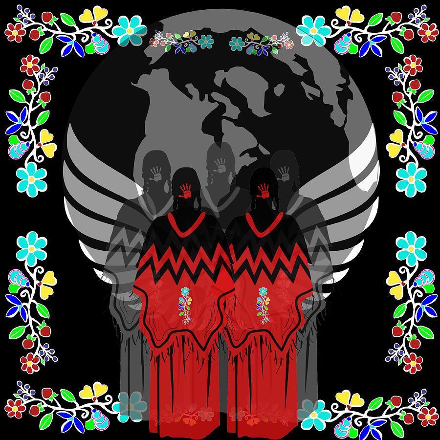 Missing And Murdered Indigenous Women Digital Art