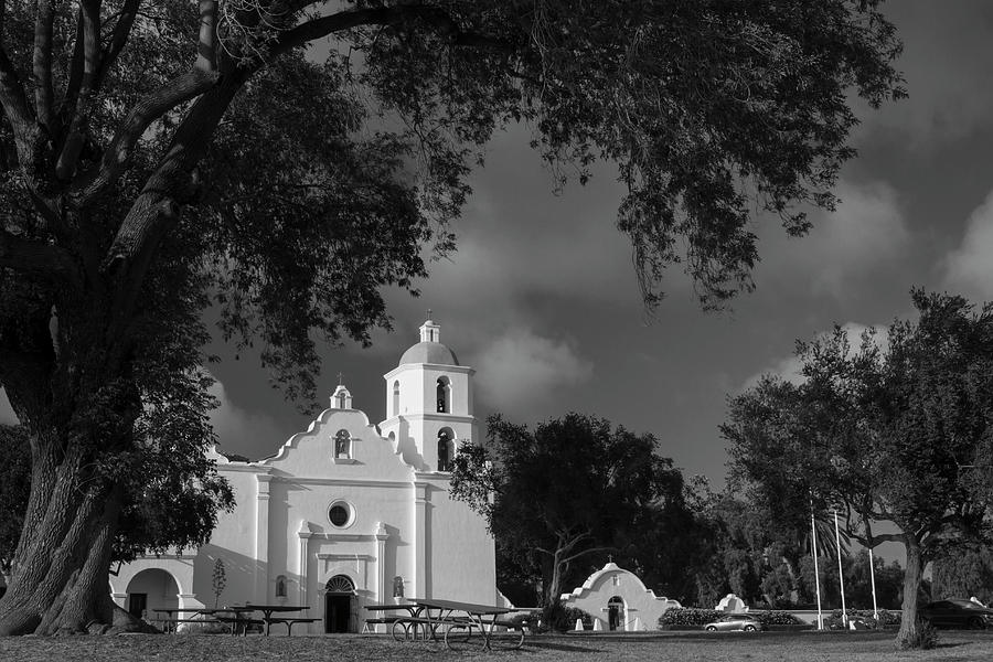 Mission San Luis Rey De Francia Photograph