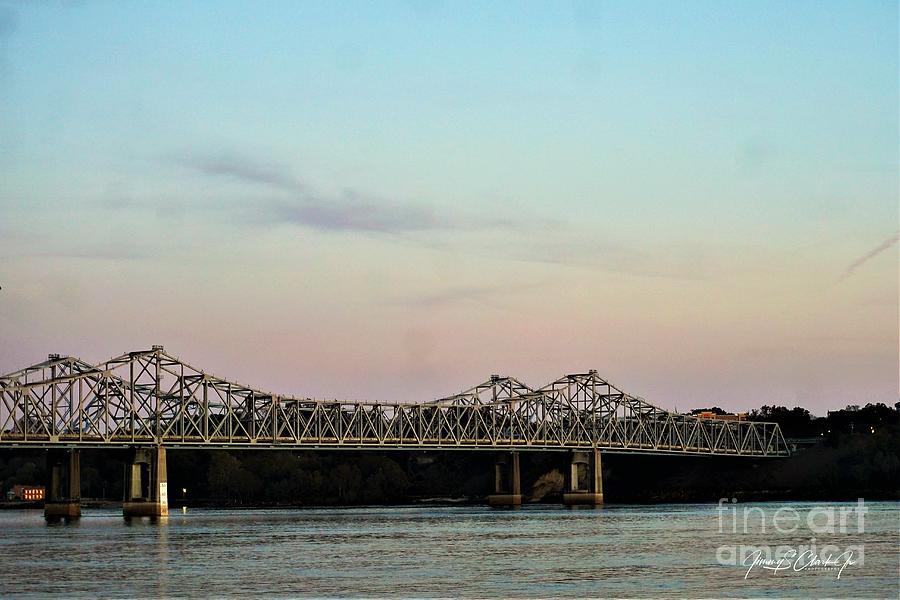 Mississippi River Bridges by Jimmy Clark
