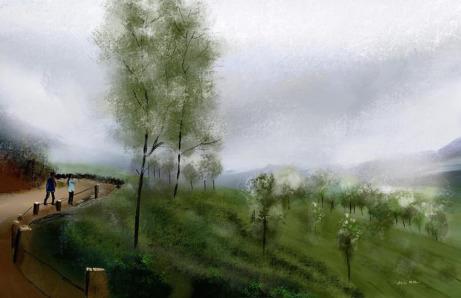 Misty 1 Digital Art