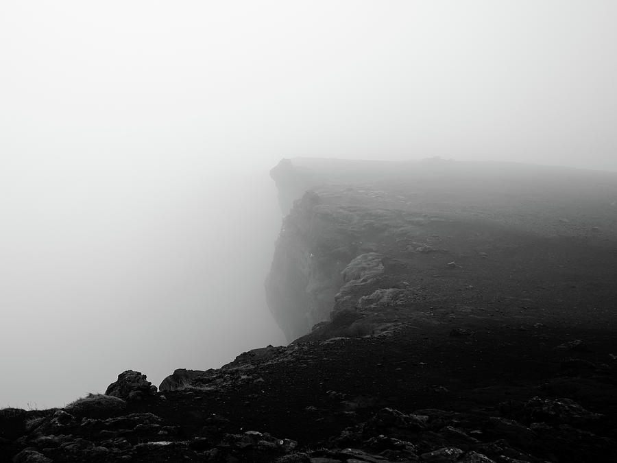 Misty Cliffs Photograph