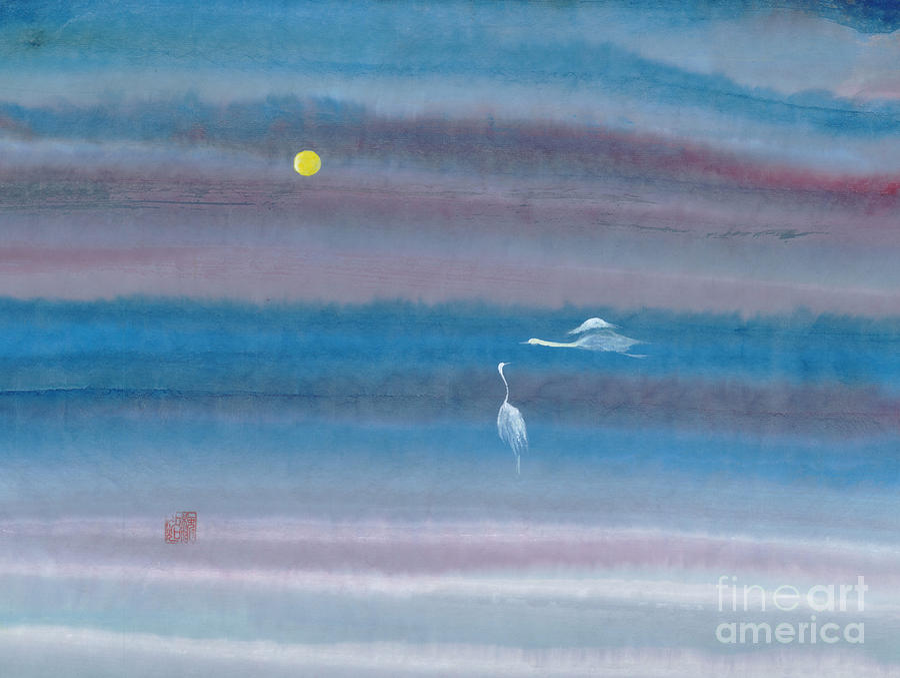Misty Fairies Painting by Mui-Joo Wee