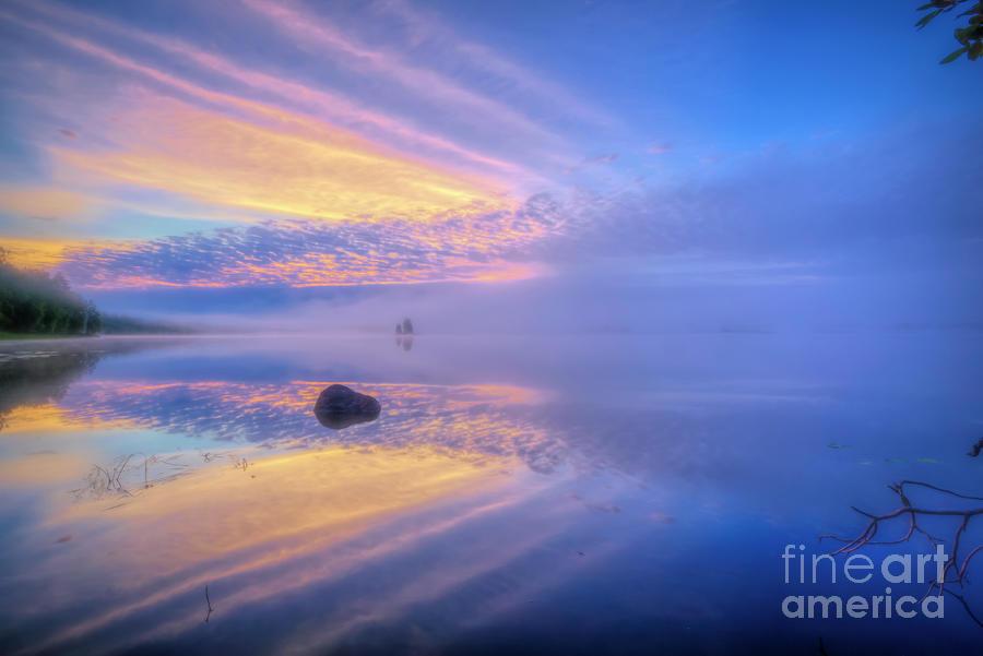 Misty Morning 3 Photograph