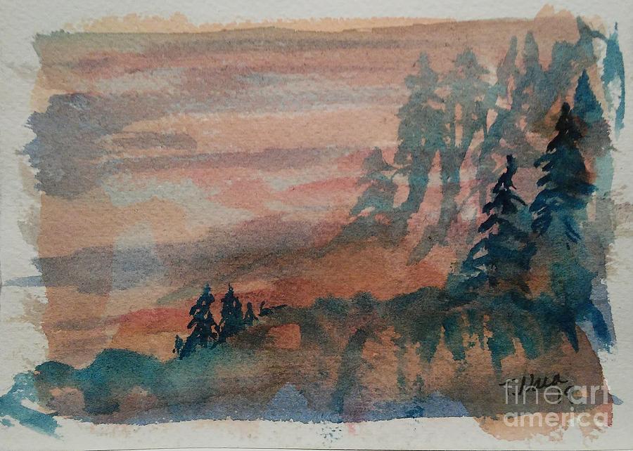Misty Pines by Tammy Nara