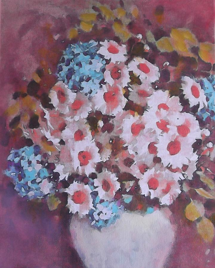 Mix Of Daisies Painting
