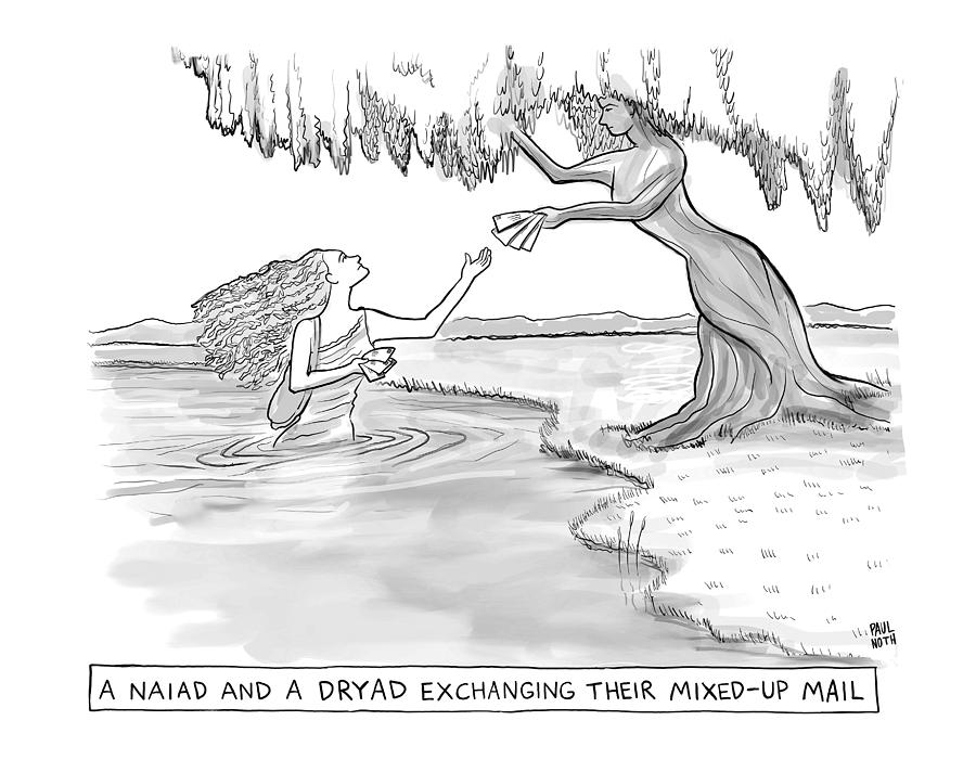 Mixed Up Mail Drawing by Paul Noth