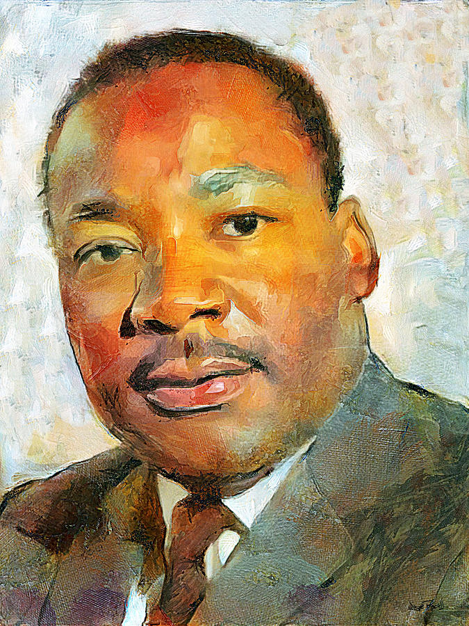 MLK in Color by Wayne Pascall