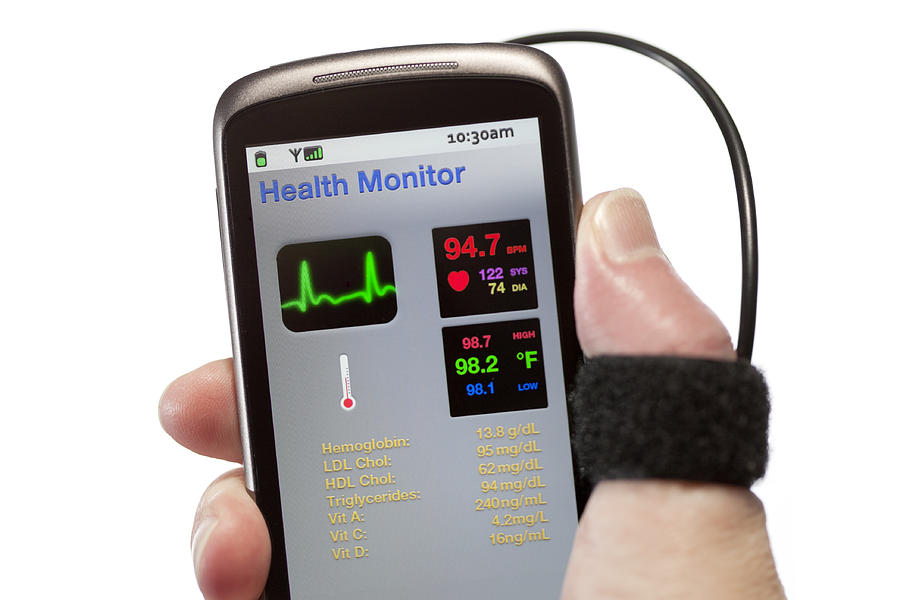 Mobile Health Monitor Photograph by Theasis