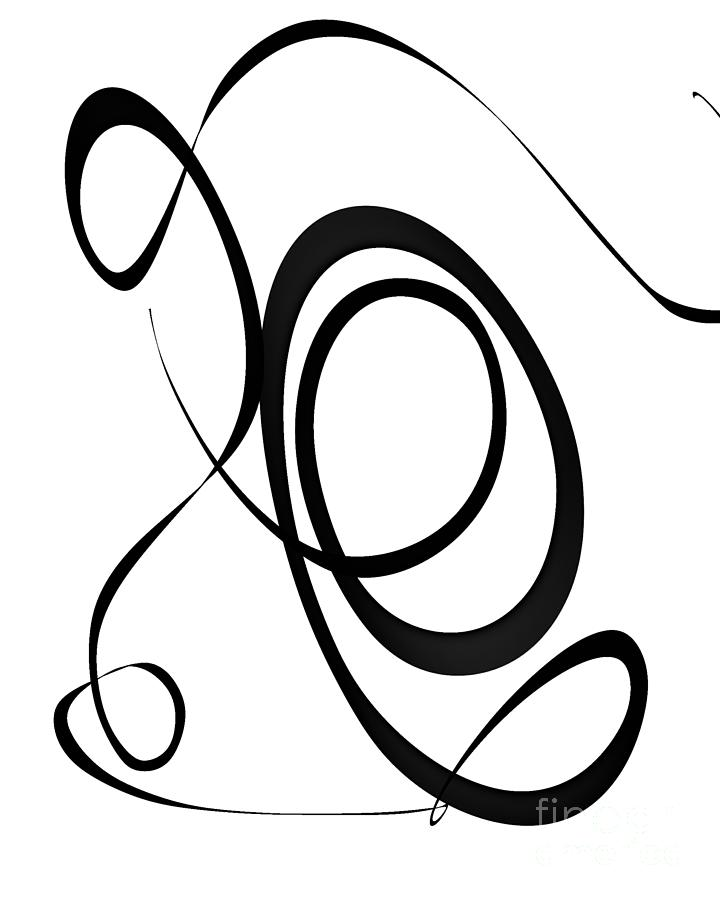 Modern Abstract Sunday Symphony 1 Drawing