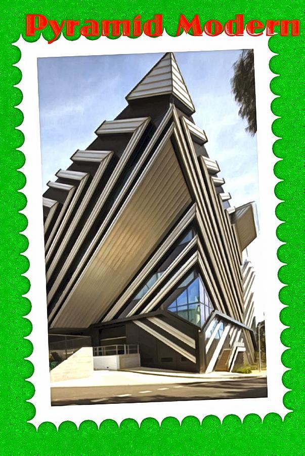 Modern Architecture Digital Art
