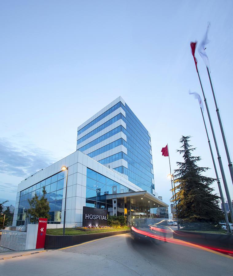 Modern Hospital Building Photograph by JazzIRT