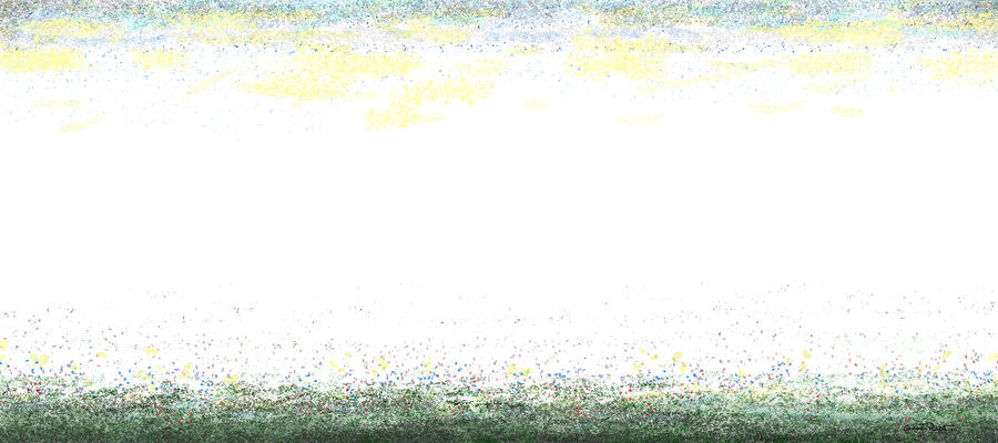 Modern Landscape-2 48x108 by Gordon Punt
