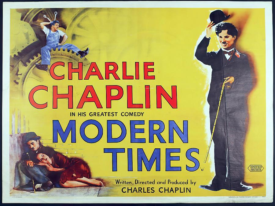modern Times - 1936 - 2 Mixed Media