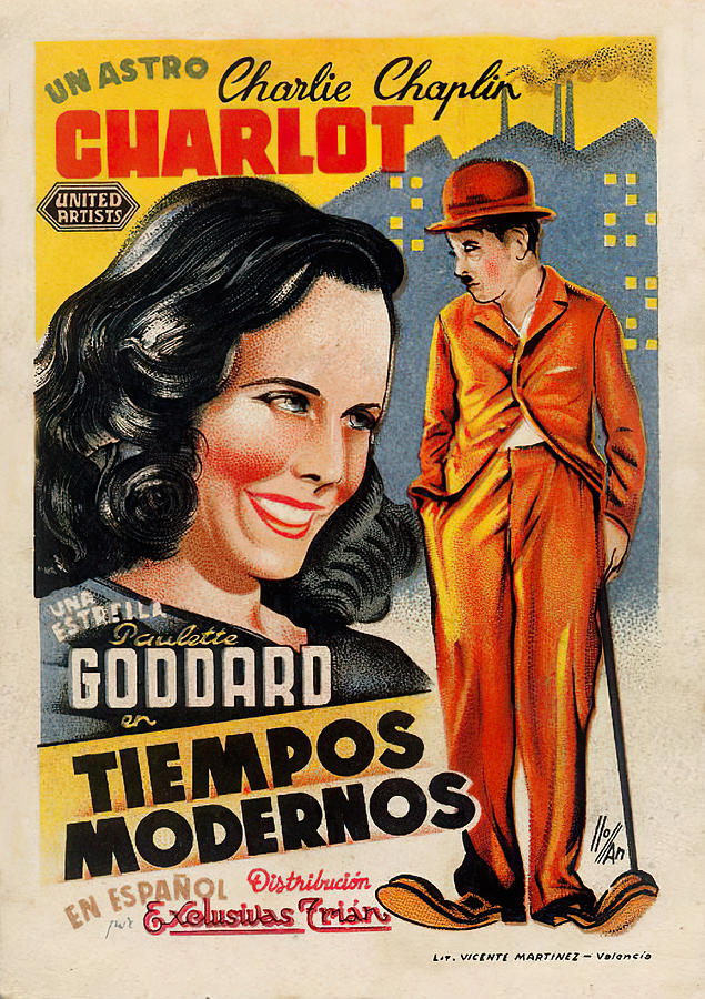 modern Times, 1936 Mixed Media