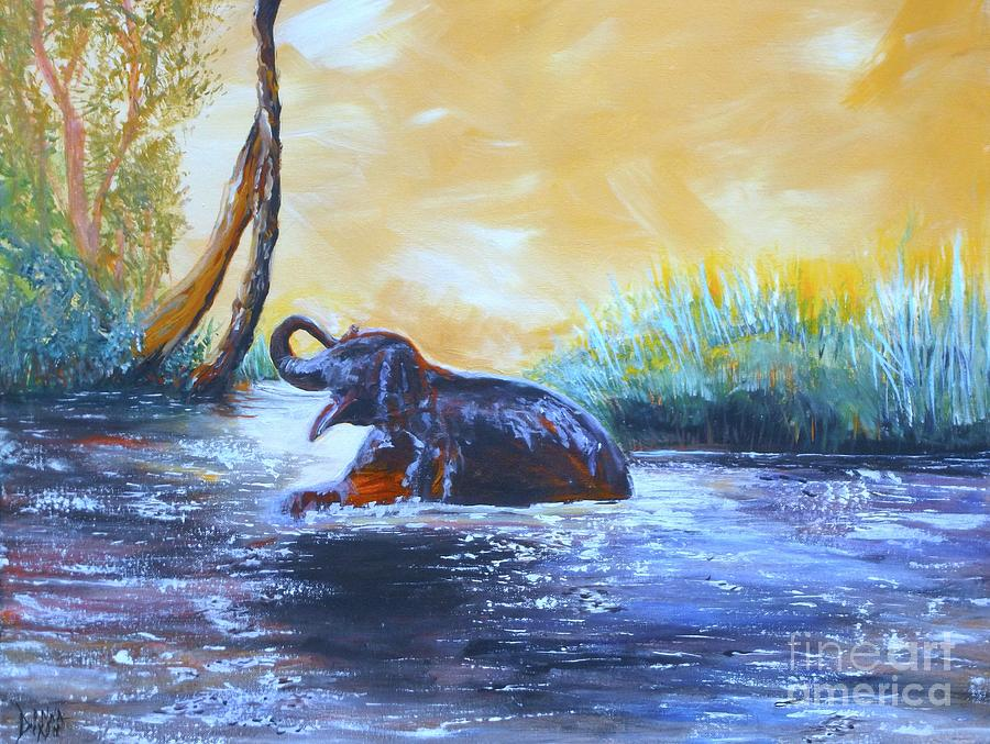 Mohans Moment Painting