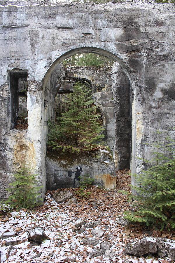 Mohawk Mining Co. Ruins Photograph