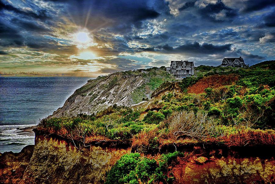 Mohegan Bluffs - Block Island   Wayne Beauregard Photography
