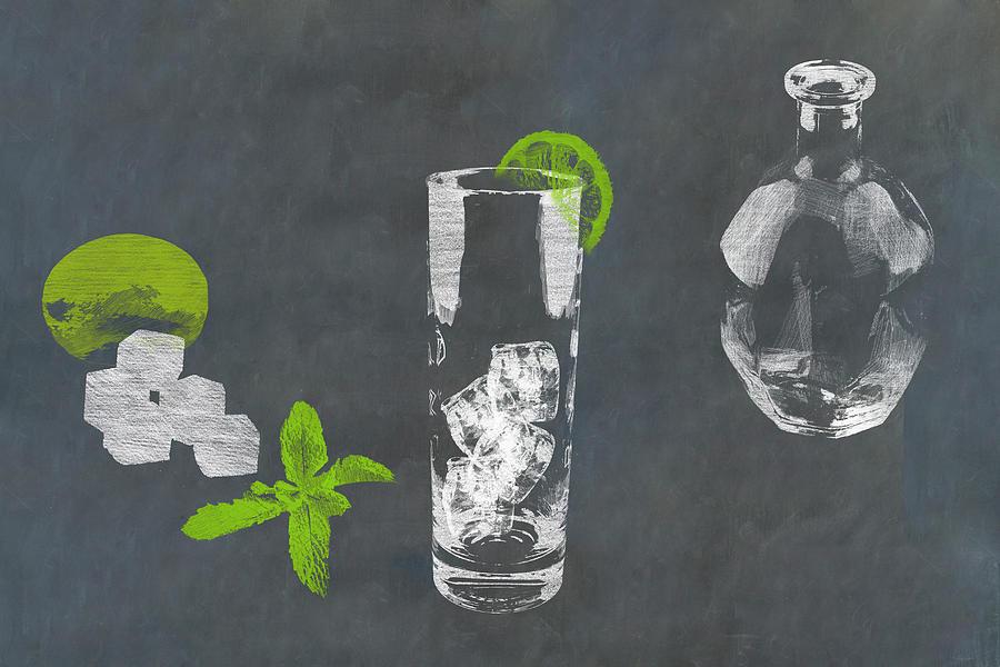 Mojito Cocktail Photograph