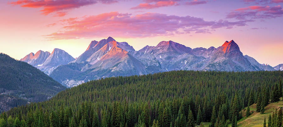 Landscape Photograph - Molas Panorama by Johnny Adolphson