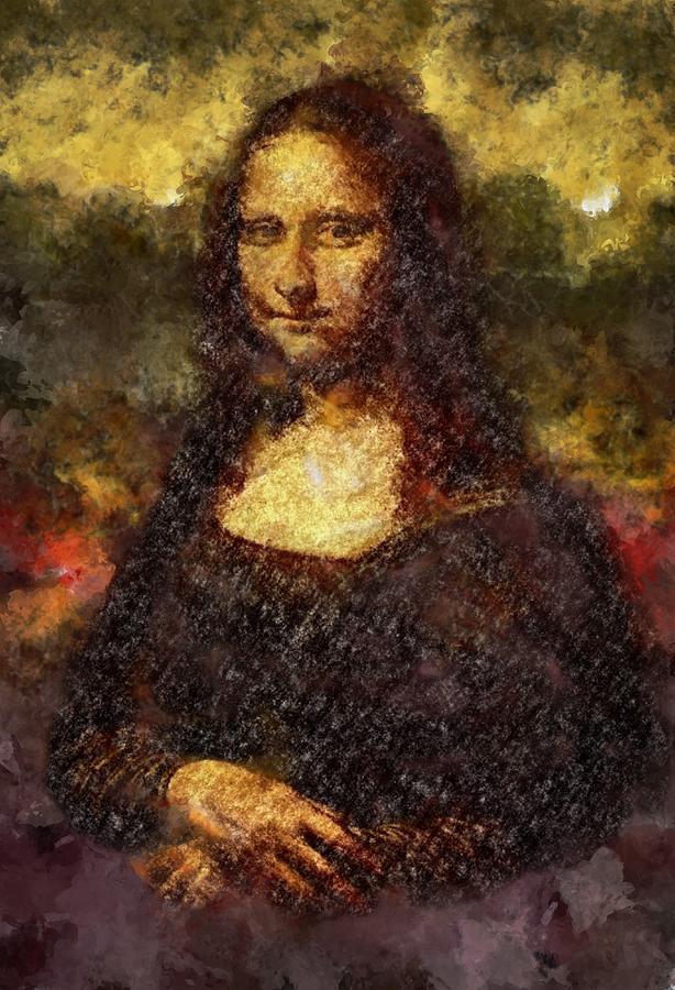 Mona Lisa Construct Digital Art