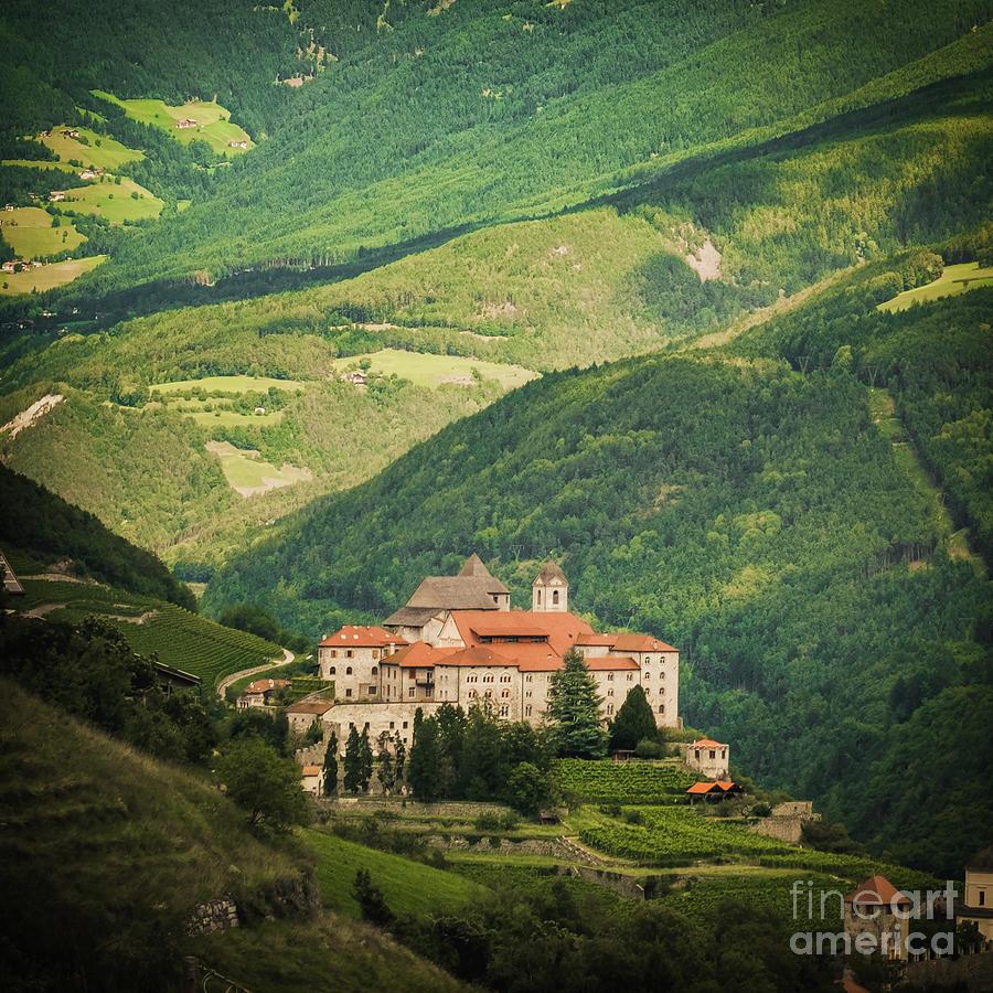 Monastero di Sabiona Saben abbey Trentino Alto Adige Italy by Luca Lorenzelli