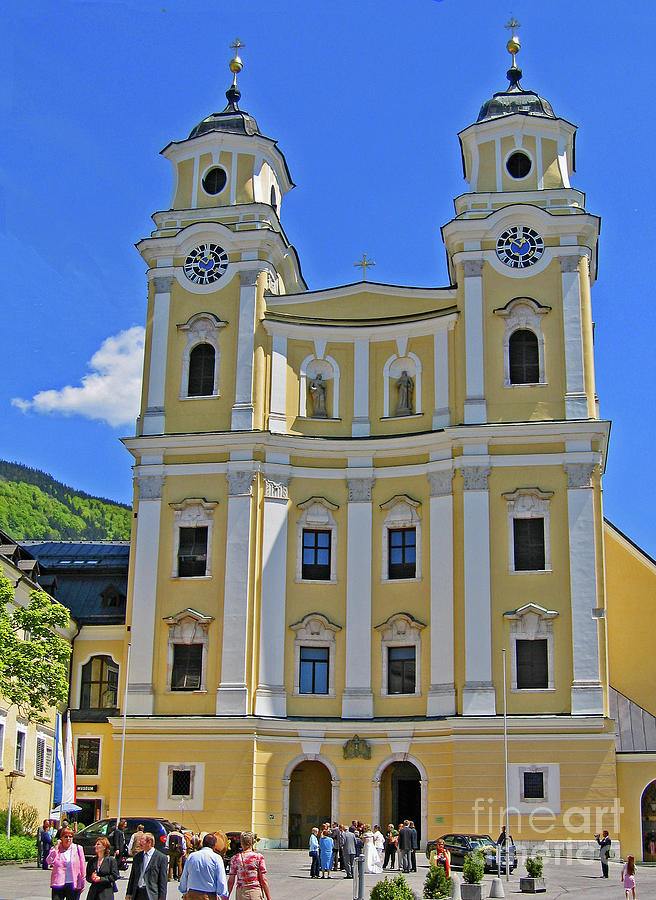 Mondsee Abbey Church Photograph