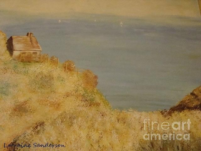 Monets Cliffside by Lorraine Sanderson