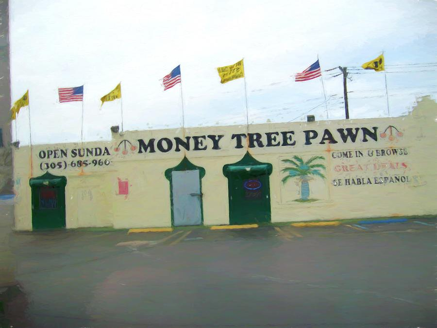 Pawn Shop Painting - Money Tree Pawn 2020 - 2355f by Albert Vatveri Studio