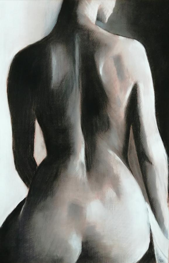 Figure Pastel - Monique by Darren Golding