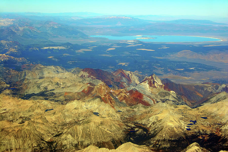 Mono Lake From The Air Photograph