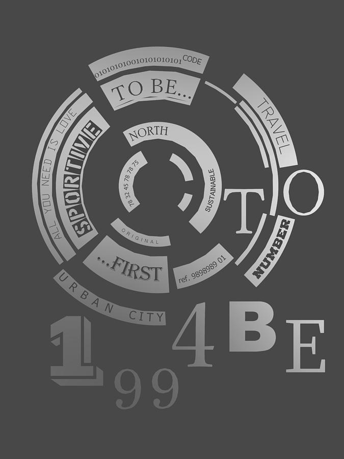 Monochrome 1994 Poster To Be... Digital Art