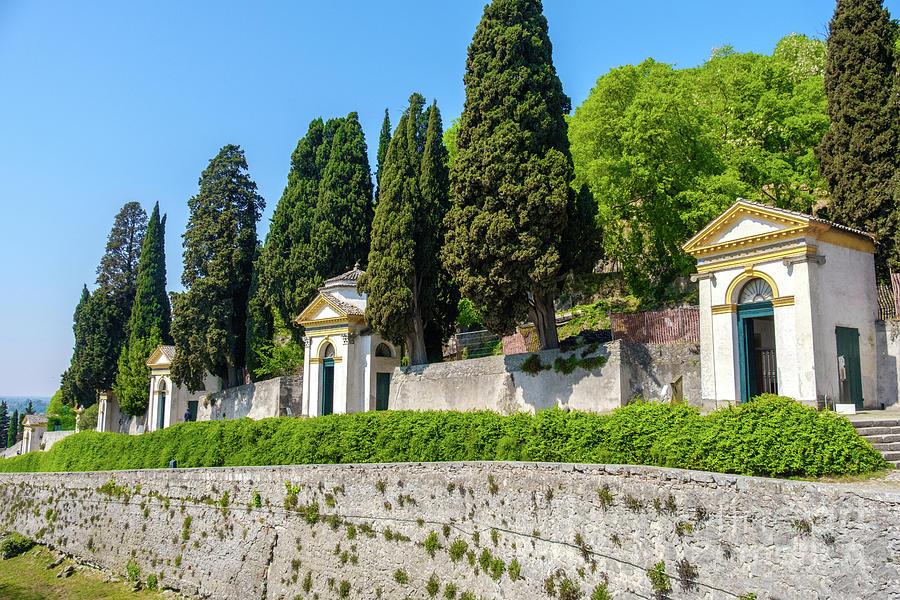 Monselice Padova Veneto Santuario delle Sette Chiesette Seven Ch by Luca Lorenzelli