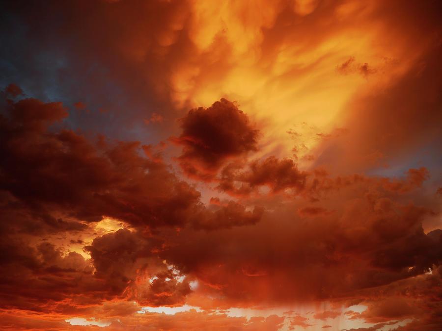 Nature Photograph - Monsoon Skies by Kati Astraeir